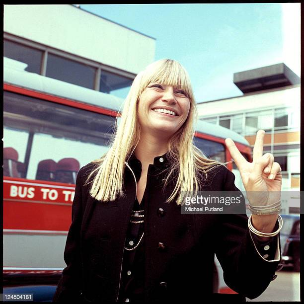 Mary Travers of Peter Paul and Mary portraitHeathrow Airport London 14th September 1970