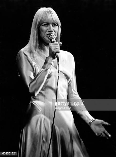 Mary Travers of Peter Paul Mary in concert circa 1972 in New York City