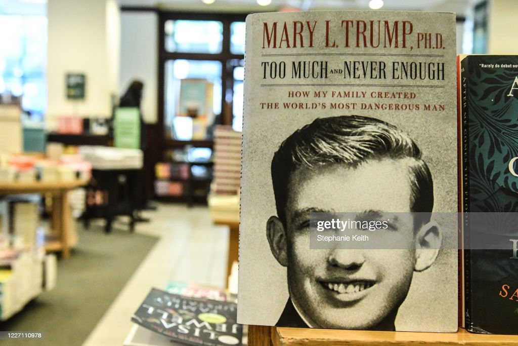 Highly Anticipated Book By President Trump's Niece Mary Trump Released : ニュース写真