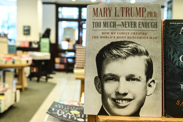 NY: Highly Anticipated Book By President Trump's Niece Mary Trump Released