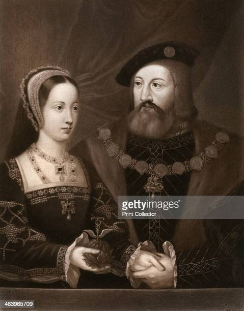 'Mary Tudor and Charles Brandon Duke of Suffolk' Mary was the daughter of King Henry VIII and Catherine of Aragon Brandon held various offices in...