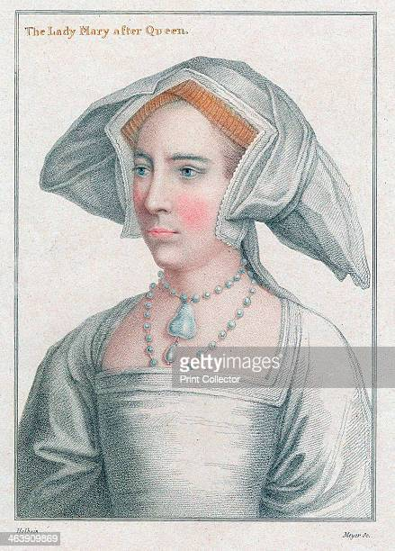 Mary Tudor Mary daughter of Henry VIII and Catherine of Aragon halfsister of Elizabeth I as a young woman She became Queen Mary I of England and...