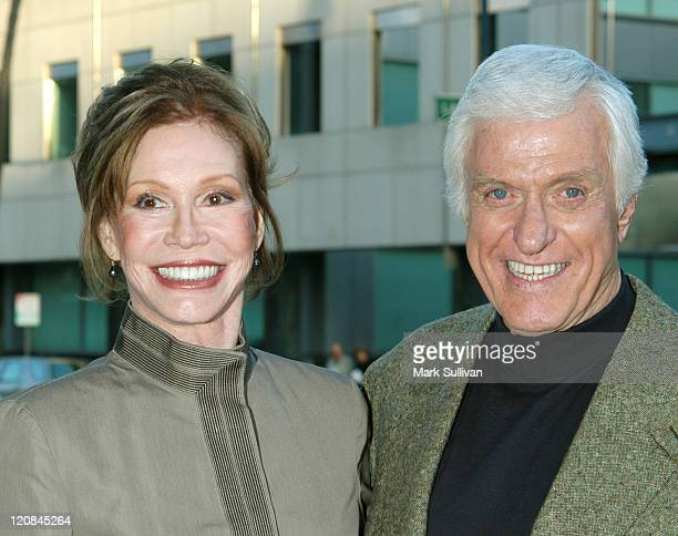 Mary Tyler Moore and Dick Van Dyke during Premiere Screening Of The KCET Production Of PBS Hollywood Presents 'The Gin Game' at The Academy Of Motion...