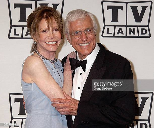 Mary Tyler Moore and Dick Van Dyke during TV Land Awards A Celebration of Classic TV Press Room at Hollywood Palladium in Hollywood California United...