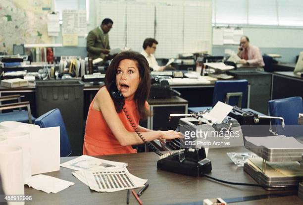 Mary Tyler Moore as Mary Richards on The Mary Tyler Moore Show Image dated January 1 1971