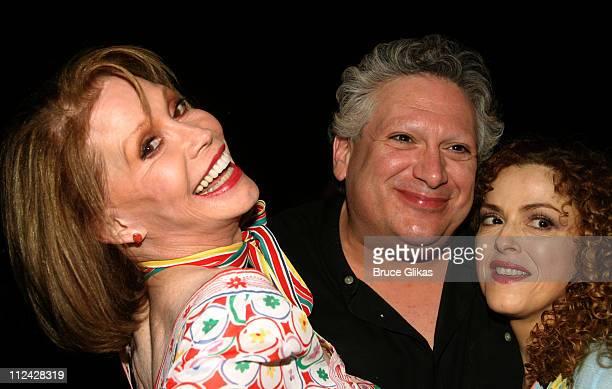 Mary Tyler Moore Bernadette Peters and Harvey Fierstein