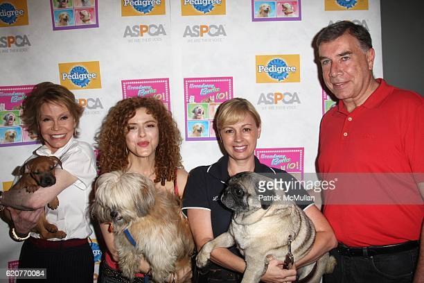 Mary Tyler Moore Bernadette Peters Anne Marie Lucas and Ed Sayres attend A PAWPULAR StarStudded Dog and Cat AdoptAThon BROADWAY BARKS Celebrates it's...