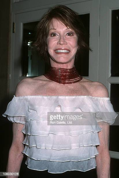 Mary Tyler Moore during 5th Annual ASPCA Bergh Ball at Plaza Hotel in New York City New York United States