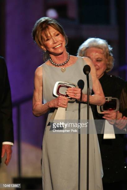 Mary Tyler Moore during The TV Land Awards Celebration of Classic TV at Hollywood Palladium in Hollywood CA United States
