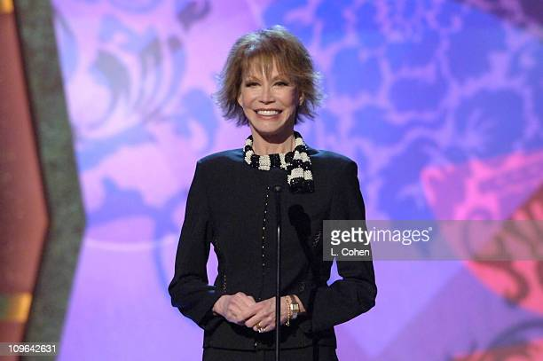 Mary Tyler Moore, presenter during 4th Annual TV Land Awards - Show at Barker Hangar in Santa Monica, California, United States.