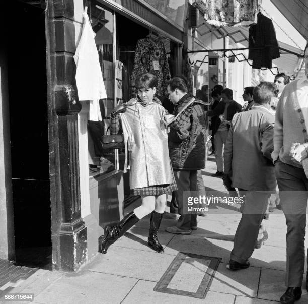 Mary Tyler Moore star of 'The Dick Van Dyke Show' walking down Kings Road Chelsea London Mary is in London for her film premier of the film...