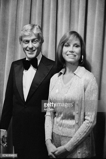 Mary Tyler Moore with Dick Van Dyke circa 1960 New York