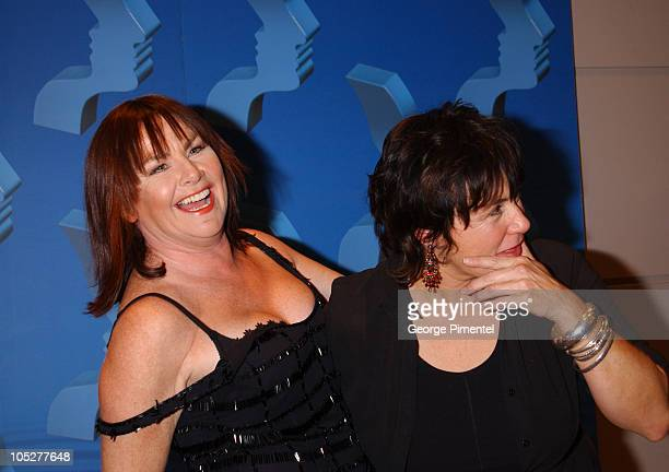 Mary Walsh and Kathy Jones during 2003 18th Annual Gemini Awards Press Room at Metro Toronto Convention Centre in Toronto Ontario Canada