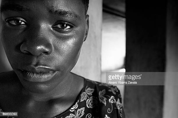 Mary was kidnaped by the LRA when she was 10 from her mother's house in Kitgum She was forced to become a soldier and a sex worker