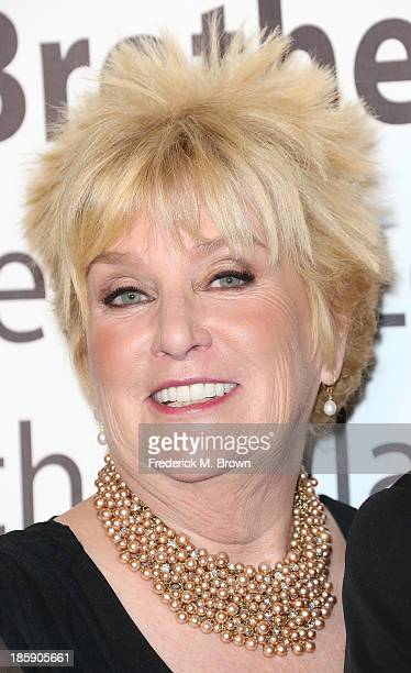 Mary Willard attends The Guild of Big Brothers Big Sisters of Greater Los Angeles Rising Star Gala at The Beverly Hilton Hotel on October 25 2013 in...