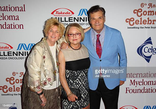 Mary Willard IMF Board of Directors Event Chair Loraine Boyle and performer Fred Willard attend the International Myeloma Foundation's 6th Annual...