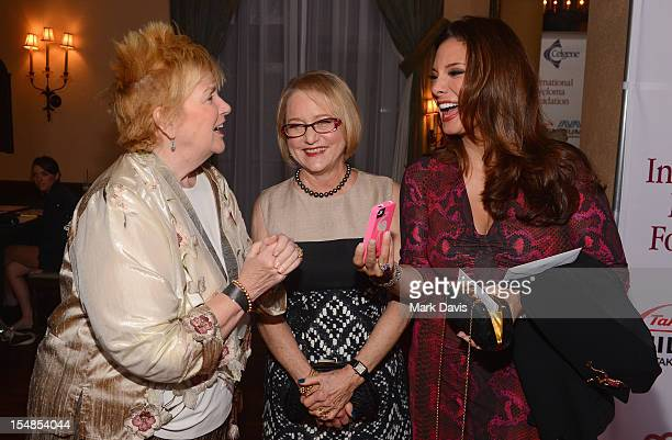 Mary Willard IMF Board of Directors Event Chair Loraine Boyle and actress Alex Meneses attend the International Myeloma Foundation's 6th Annual...
