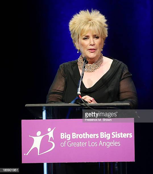 Mary Willard The Guild of Big Brothers Big Sisters of Greater Los Angeles Rising Star Gala at The Beverly Hilton Hotel on October 25 2013 in Beverly...