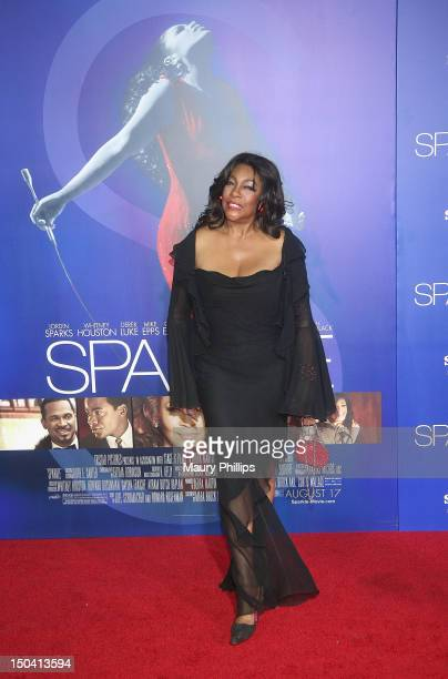 Mary Wilson arrives at the Los Angeles Premiere of Sparkle at Grauman's Chinese Theatre on August 16 2012 in Hollywood California