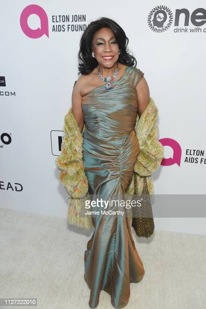 Mary Wilson attends the 27th annual Elton John AIDS Foundation Academy Awards Viewing Party sponsored by IMDb and Neuro Drinks celebrating EJAF and...