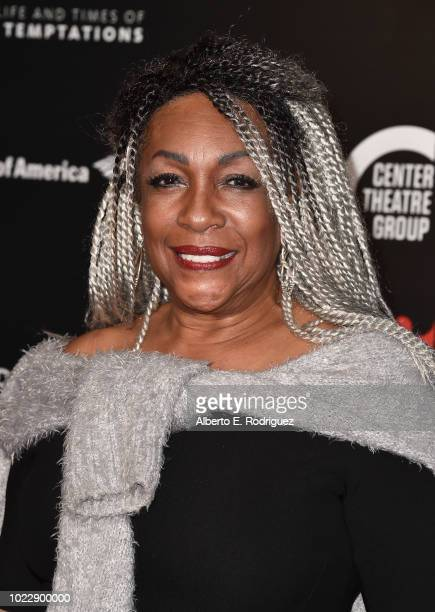 Mary Wilson attends the Opening Night of Ain't Too Proud The Life And Times Of The Temptations at the Ahmanson Theatre on August 24 2018 in Los...
