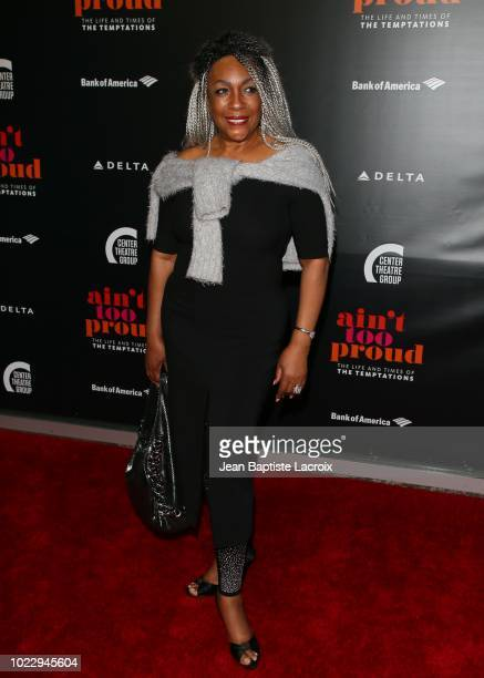Mary Wilson attends the Opening Night of 'Ain't Too Proud The Life And Times Of The Temptations' at the Ahmanson Theatre on August 24 2018 in Los...