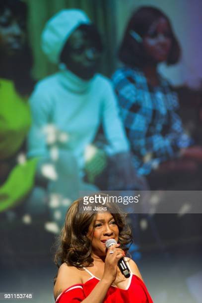 Mary Wilson discusses her career at GRAMMY Museum Mississippi on March 9 2018 in Cleveland Mississippi