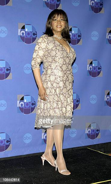Mary Wilson during 'Motown 45' Anniversary Celebration Press Room April 4 2004 at Shrine Auditorium in Los Angeles California United States