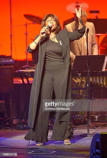 Mary Wilson during New York Premiere of Standing in the Shadows of Motown Performance at Harlem's World Famous Apollo Theater in New York New York...