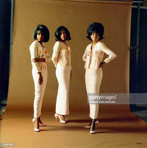 Mary Wilson Florence Ballard Diana Ross of the RB vocal group The Supremes pose for a portrait in circa 1964