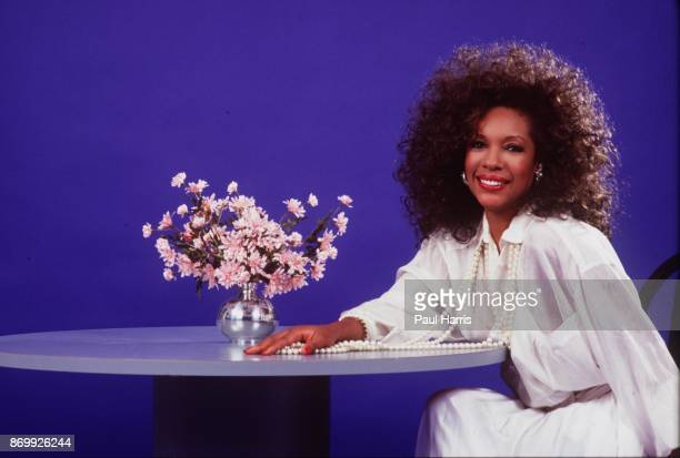 Mary Wilson of the Supremes photographed at a hotel in Los Angeles California April 12 1985