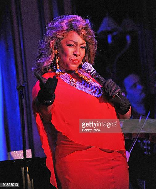 Mary Wilson performs at Feinstein's on October 2 2009 in New York City