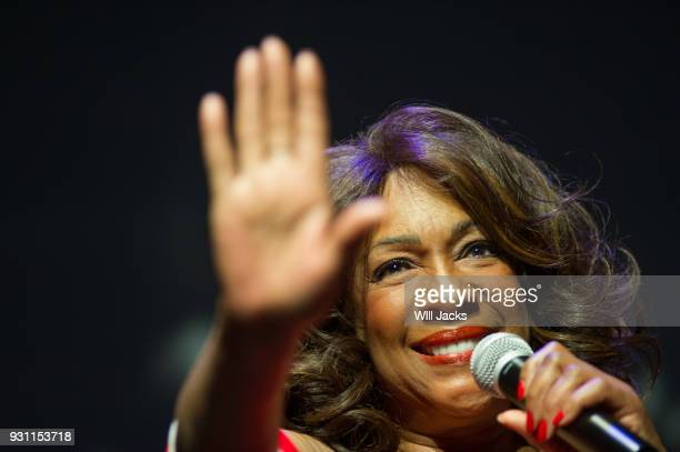 Mary Wilson performs at GRAMMY Museum Mississippi on March 9 2018 in Cleveland Mississippi