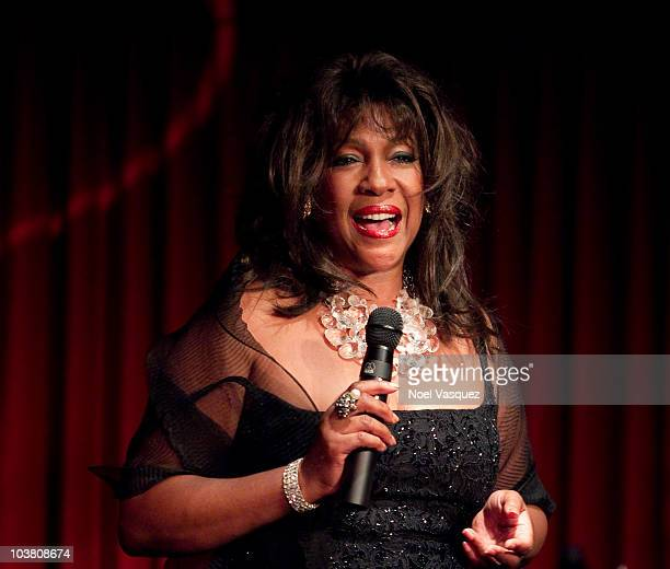 Mary Wilson performs at the Catalina Bar and Grill on September 2 2010 in Hollywood California