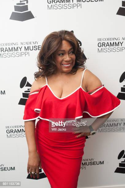 Mary Wilson poses backstage at GRAMMY Museum Mississippi on March 9 2018 in Cleveland Mississippi