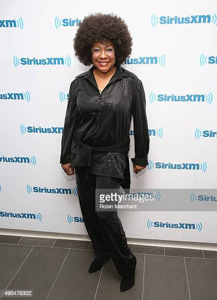 Mary Wilson visits at SiriusXM Studios on November 3 2015 in New York City