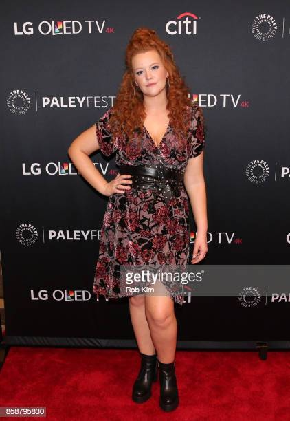 """Mary Wiseman attends """"Star Trek: Discovery"""" at The Paley Center for Media on October 7, 2017 in New York City."""
