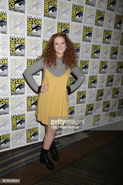 """Mary Wiseman during the """"Star Trek: Discovery"""" press conference at Comic-Con 2017, held in San Diego, Ca."""