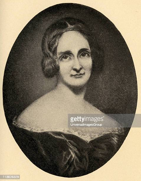 Mary Wollstonecraft Shelley 17971861 English novelist From an engraving by Richard Rothwell
