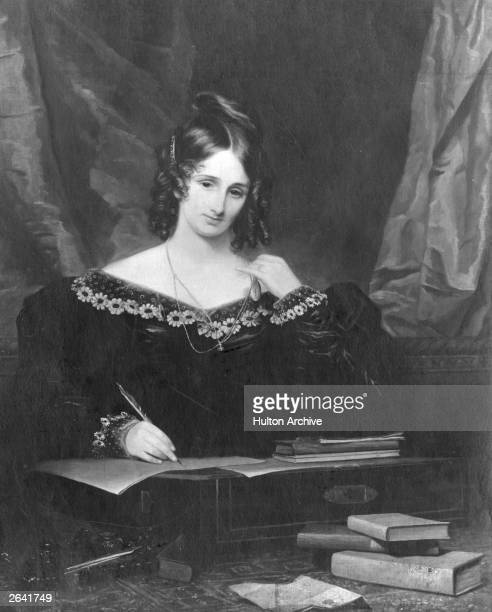 Mary Wollstonecraft Shelley British writer best known for 'Frankenstein' and second wife of poet Percy Bysshe Shelley
