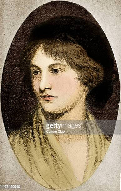 Mary Wollstonecraft Shelley portrait Wife of Romantic poet Percy Bysshe Shelley MWS English romantic / gothic novelist 30 August 1797 1 February 1851...