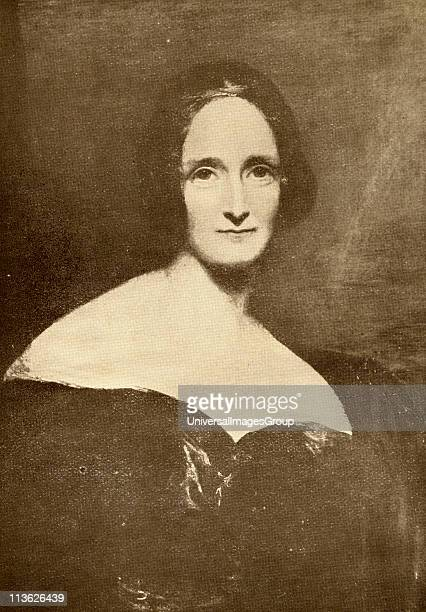 Mary Wollstonecroft Shelley 17971861 English novelist From the book The Masterpiece Library of Short Stories English Volume 7
