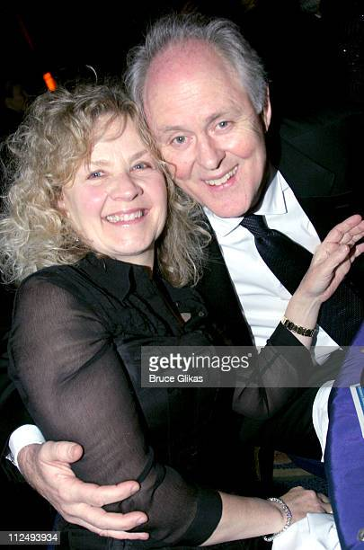 Mary Yeager and John Lithgow during 2005 National Corporate Theatre Fund Annual Gala at The Essex House in New York City New York United States