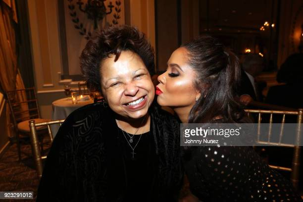 Mary Yee and honoree Angela Yee attend the 2018 AFUWI Gala at The Pierre Hotel on February 22 2018 in New York City
