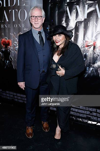 Marya Coburn and Tom Waters attend 'Inside Amato' New York premiere at Liberty Theater on September 16 2015 in New York City