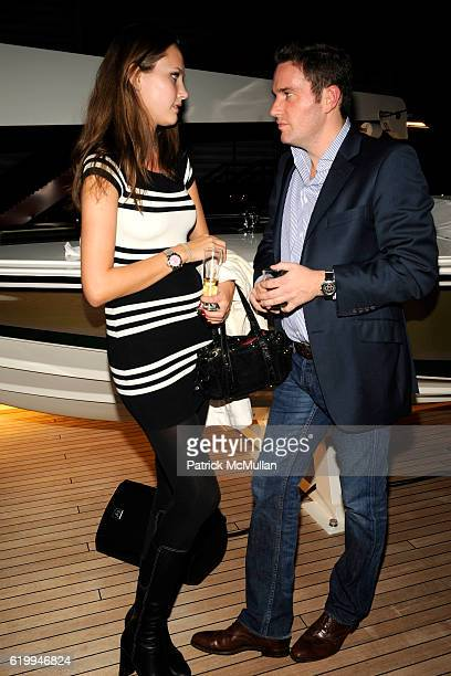 Maryam Abdullina and Chris O'Neill attend MIGUEL FORBES Celebrates the Winner of The 2nd Annual Forbes Billionaire Charity Poker Tournament at The...