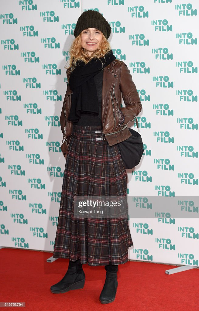 Maryam d'Abo arrives for the 2016 Into Film Awards at Odeon Leicester Square on March 15, 2016 in London, England.