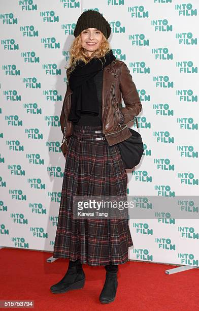 Maryam d'Abo arrives for the 2016 Into Film Awards at Odeon Leicester Square on March 15 2016 in London England
