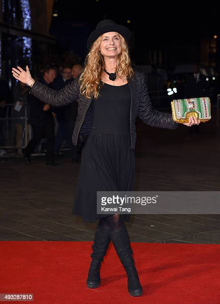 Maryam d'Abo attends a screening of Steve Jobs on the closing night of the BFI London Film Festival at Odeon Leicester Square on October 18 2015 in...