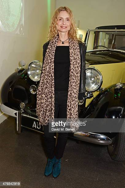 Maryam d'Abo attends the 'Bond In Motion' photocall at the London Film Museum on March 18 2014 in London England